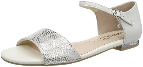 Zapatos blancos de punta abierta formales Caprice para mujer aWmVF