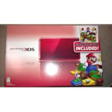 Nintendo 3DS with Super Mario 3D Land - Flame Red