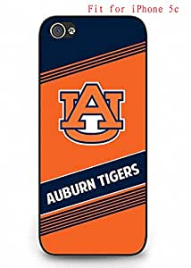 Cover for Iphone 5c Case Auburn Tigers NCAA AgnesPro Cool Design for Men 1817