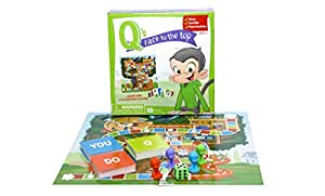 Q's Race to the Top Educational Board Game: social skills, manners, and better behavior!