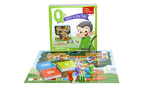 EQtainment Q's Race to The Top Educational Board Game: Social Skills, Manners, and Better Behavior! (30 Seconds The Quick Thinking Fast Talking Game)