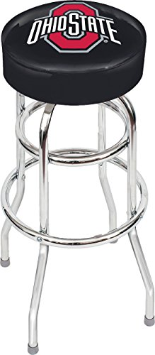 Ohio State Buckeyes Seat Cushion - Imperial Officially Licensed NCAA Furniture: Swivel Seat Bar Stool, Ohio State Buckeyes