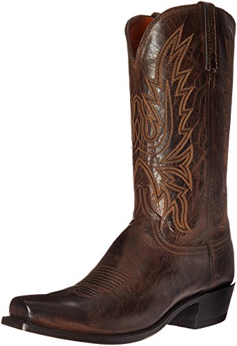 Lucchese Classics Men's Cole-ch Burn Md Goat Riding Boot ...