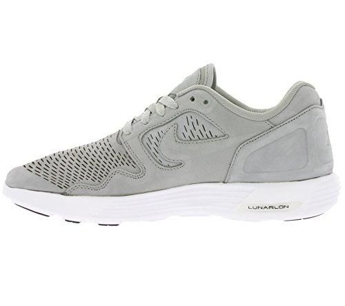 Nike Lunar Flow Lsr Prm, Zapatillas de Deporte Para Hombre Gris (Medium Grey / Medium Grey-White)