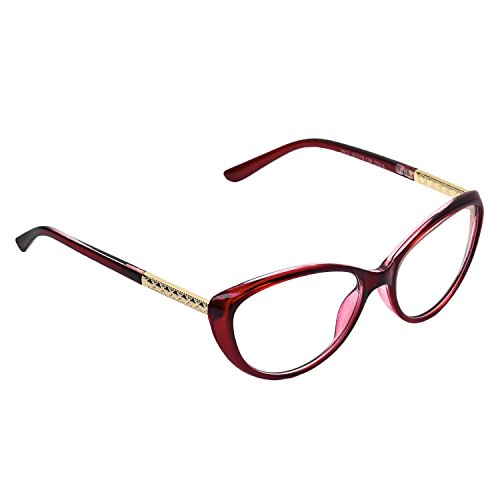 ... Forepin® Lunettes de Vue Vintage pour Femme et Homme Verre Transparent  Cadre Frame Lentille Claire ... 2cd52014358