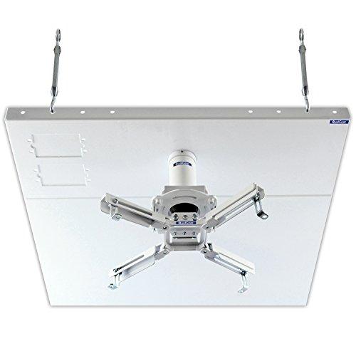 qualgear-pro-av-qg-kit-s2-3in-w-projector-mount-kit-accessory-suspended-ceiling-2x2-adapter-white