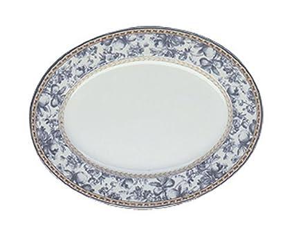 buy royal doulton provence bleu light medium platter online at low