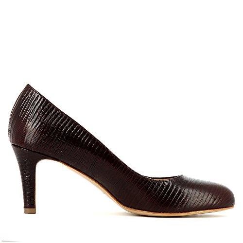 Evita Shoes Bianca - Zapatos de vestir de Piel para mujer burdeos