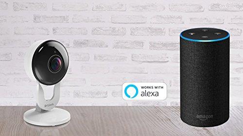 D-Link Full HD 1080p WiFi Indoor Security Camera/Cloud
