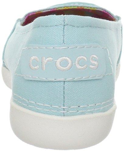 Crocs Melbourne II, Damen Ballerinas Beige (Écume/huître)