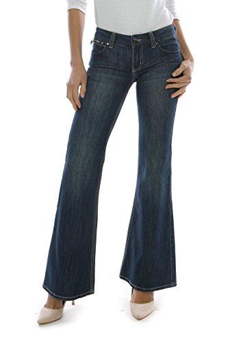 Noir fonc Evas Femme Taille bleu noir XXX Triple Jeans Unique rHwqRrA