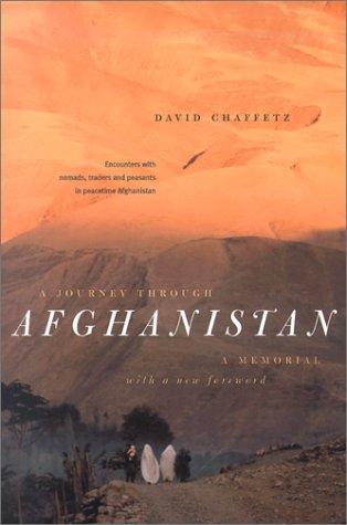 A Journey through Afghanistan