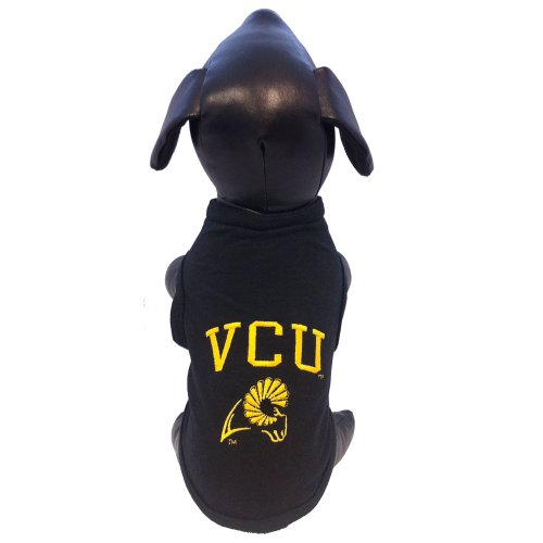 Vcu Rams Top - All Star Dogs NCAA Virginia Commonwealth Rams Cotton Lycra Dog Tank Top, Small