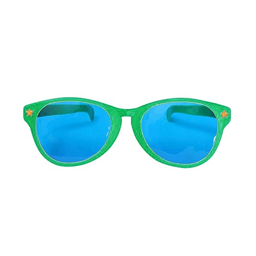 Surdimensionné Vin Green beauty Lunettes Costume Fancy Hen soleil wlgreatsp Accessoire Wedding géant de Party Photography fqHxrfE1w