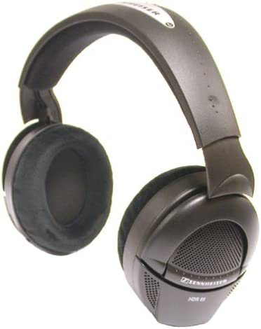 Sennheiser HDR-65 Supplemental HiFi Stereo Wireless Headphones for HDR-65 Black Discontinued by Manufacturer