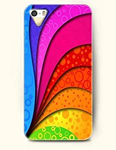 iPhone 5/5S Case, SevenArc Phone Cover Series for Apple iPhone 5 5S Case (DOESN'T FIT iPhone 5C)-- Colorful Curves...
