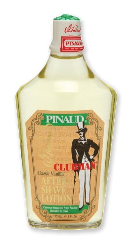 Clubman After Shave Lotion 6 Ounce Vanilla (177ml) (2 Pack) ()