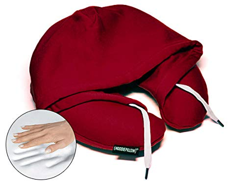 HoodiePillow Memory Foam Travel Pillows