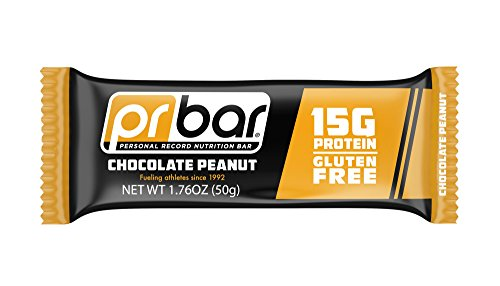 PR Bar - Chocolate Peanut Gluten-Free Protein Bar (Pack of 12)