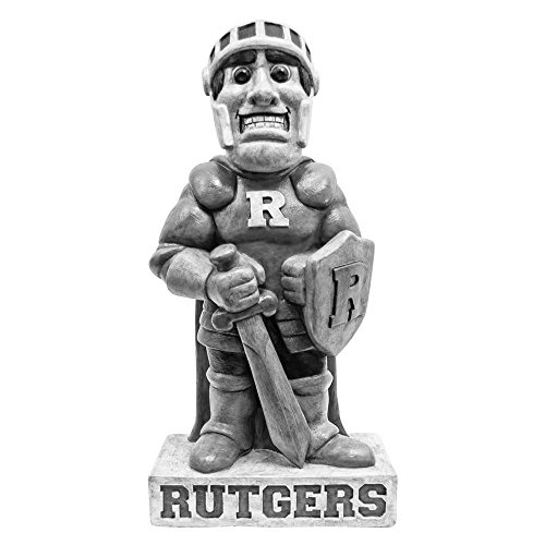 Rutgers Scarlet Knights NCAA ''Scarlet Knight'' College Mascot 21.5in Vintage Statue by Stone Mascots