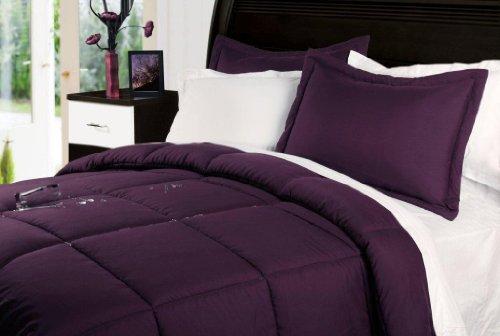 Stayclean Comforter Set, Twin, Fig