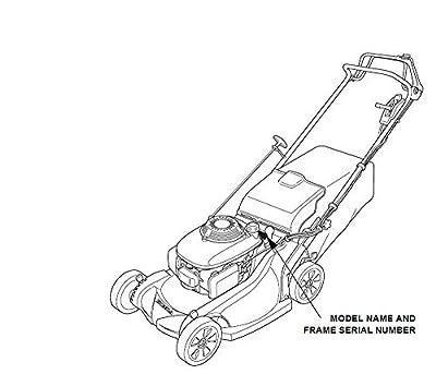 Honda Genuine OEM Harmony II HRR216 (HRR2169VKA) (HRR2169VLA) (HRR2169VYA) Walk-Behind Lawn Mower Engines Drive V-Belt