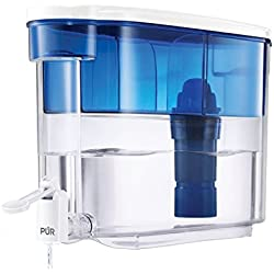pur 18 cup dispenser w 1 filter and 2 stage water pitcher replacement filter bundle. Black Bedroom Furniture Sets. Home Design Ideas