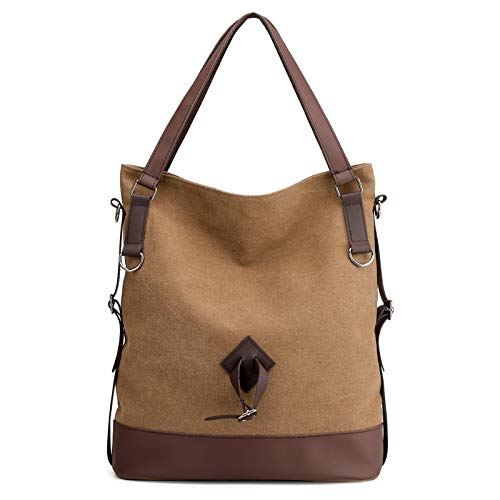 In Donna Brown Lieyliso Tracolla Borsa color Brown Viaggio Tela Da A 0nxFOHvn