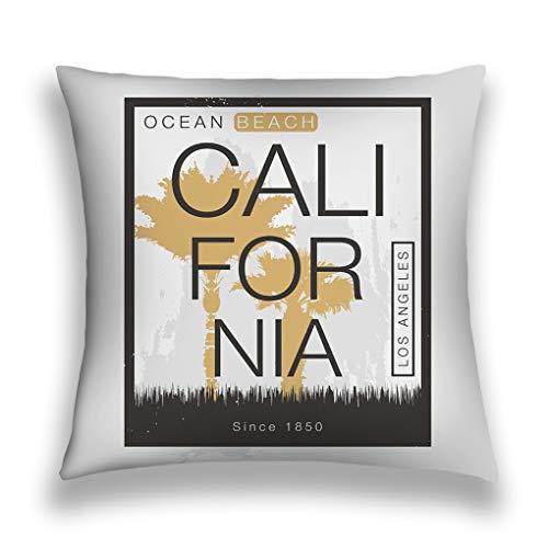 zexuandiy Pillow Case Cover, Sofa Bed Home Decoration Festival Pillow Case Cushion Cover,Cotton Linen,18