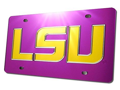 Lsu Tigers Purple Block (LSU Tigers LSU Block Purple Laser Tag)