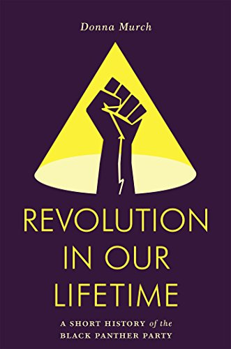 Ebook cover from Revolution in Our Lifetime: A Short History of the Black Panther Party by Donna Murch