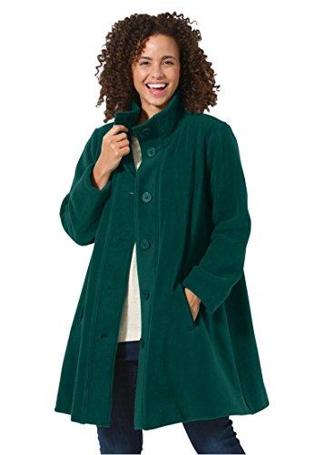 Womens-Plus-Size-Jacket-Swing-Style-In-Cozy-Fleece