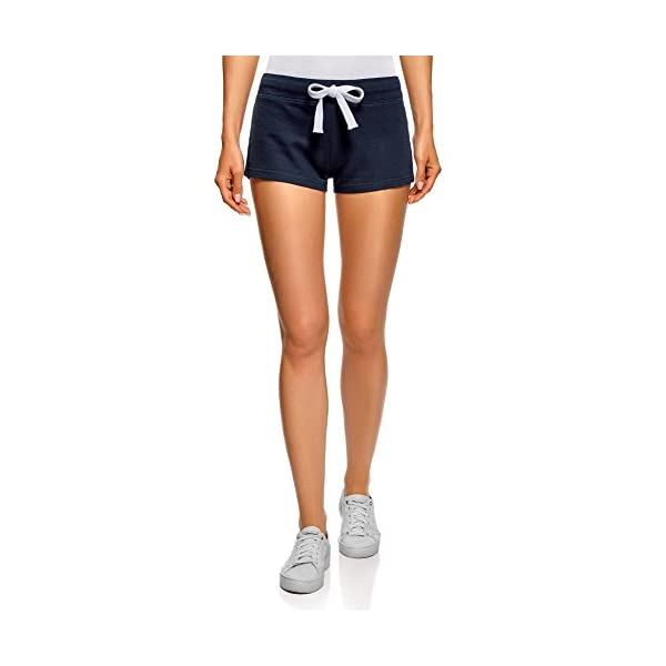 oodji Ultra Donna Pantaloncini Basic in Maglia (Pacco di 5) 1 spesavip