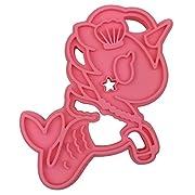 Itzy Ritzy Tokidoki Silicone Teether, Mermicorno Pink