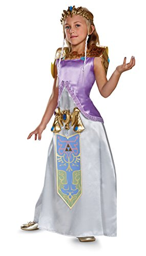 Zelda Deluxe Legend of Zelda Nintendo Costume, Small/4-6X]()