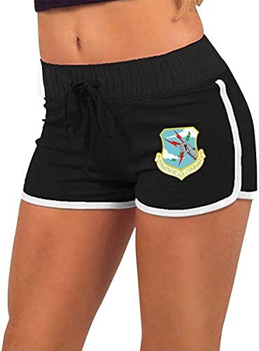 fshsh limeiliF Strategische Air Command Womens Zomer Sexy Lage Taille Hot Broek Booty Shorts Trekkoord Taille Actieve Lounge Shorts