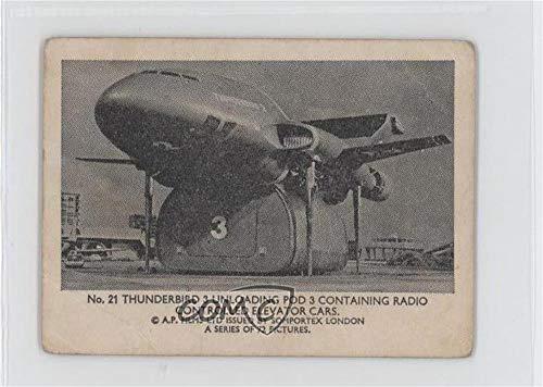 Thunderbird 3 Unloading Pod 3 Ungraded COMC Good to VG-EX (Trading Card) 1966 Somportex Thunderbirds Small - [Base] #21