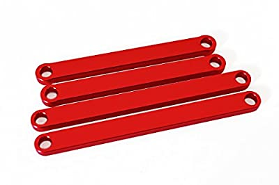 Red Aluminum Camber Arms for Traxxas Rustler and Stampede 2WD