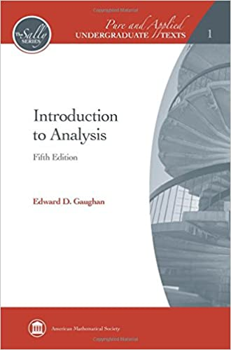 Introduction To Analysis Pure And Applied Undergraduate