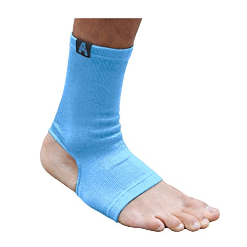- Anthem Athletics Raptor Ankle Supports - Muay Thai, Kickboxing, Boxing, MMA - Sky Blue