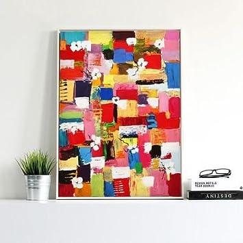Moderne Minimalistische Kunst Malerei Im Skandinavischen Stil Abstrakte  Malerei Hängen Im Flur Schlafzimmer Parlor Büro Kinderzimmer