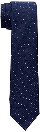 Calvin Klein Men's Silk Dots Tie, Navy