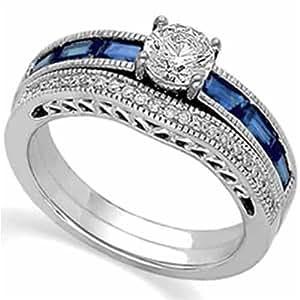 Wedding Jewelry Blue