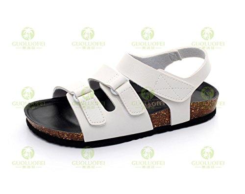 Xing black White En 44 42 Guang Liège Sandales Slippers rCrpXq