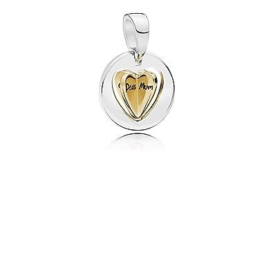 4cb2430da PANDORA Mom's Golden Heart 18k Gold Plated PANDORA Shine Collection Charm -  767774