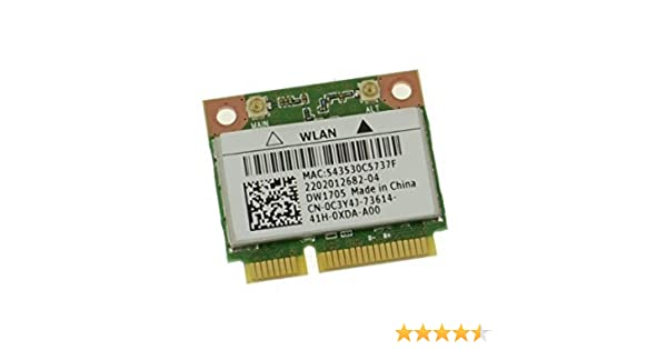 DRIVER UPDATE: DELL WIRELESS 1705 BLUETOOTH ATHEROS