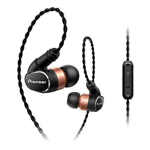 Pioneer SE-CH9T-Kã€MMCX re-Cable Compatible/Realized high-Bandwidth high-Resolution playbackã€'ã€Japan Domestic modelã€'(Black