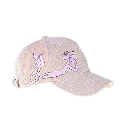 修正する不均一かみそりLeadhome 2018 新発売 超人気!ヒョウ 刺繍 ベースボールキャップ ウトドアハット UVカット メンズ レディース シンプルなデザイン 野球帽 おしゃれ つば付き