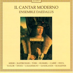 Price comparison product image Il Cantar Moderno: Venetian Lyrics 15 Century