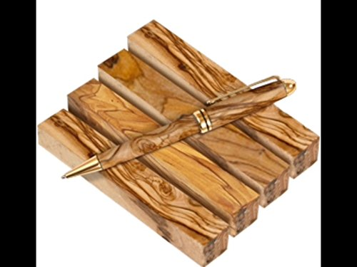 Quality Bethlehem Holy land Olive Wood Pen Blanks (Olive Wood Branch)